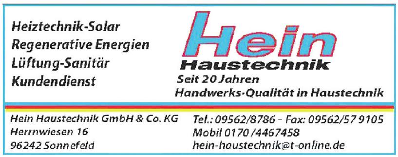 Hein Haustechnik GmbH & Co. KG