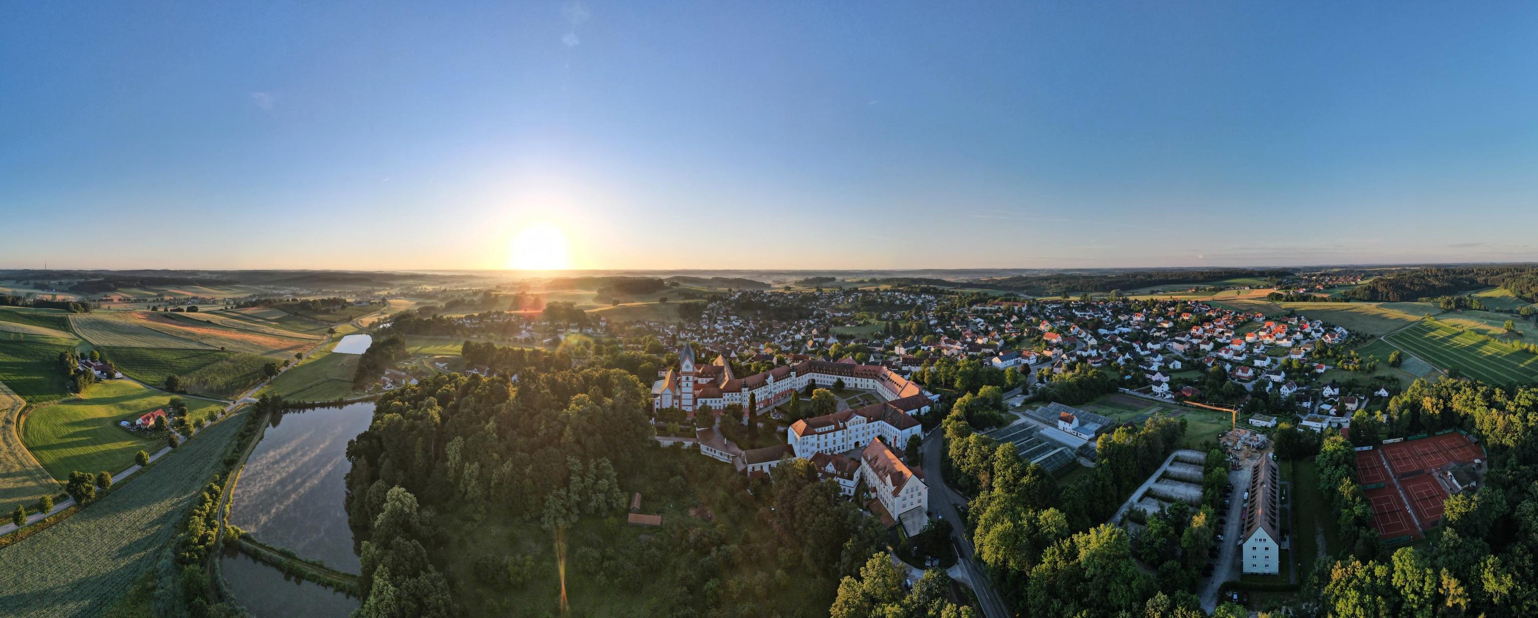 Die Gemeinde Scheyern liegt am südwestlichen Anfang der Hallertau zwischen Ilm und Paar. Foto: Vitus Rath