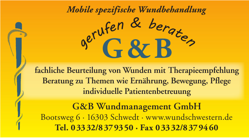 G&B Wundmanagement GmbH