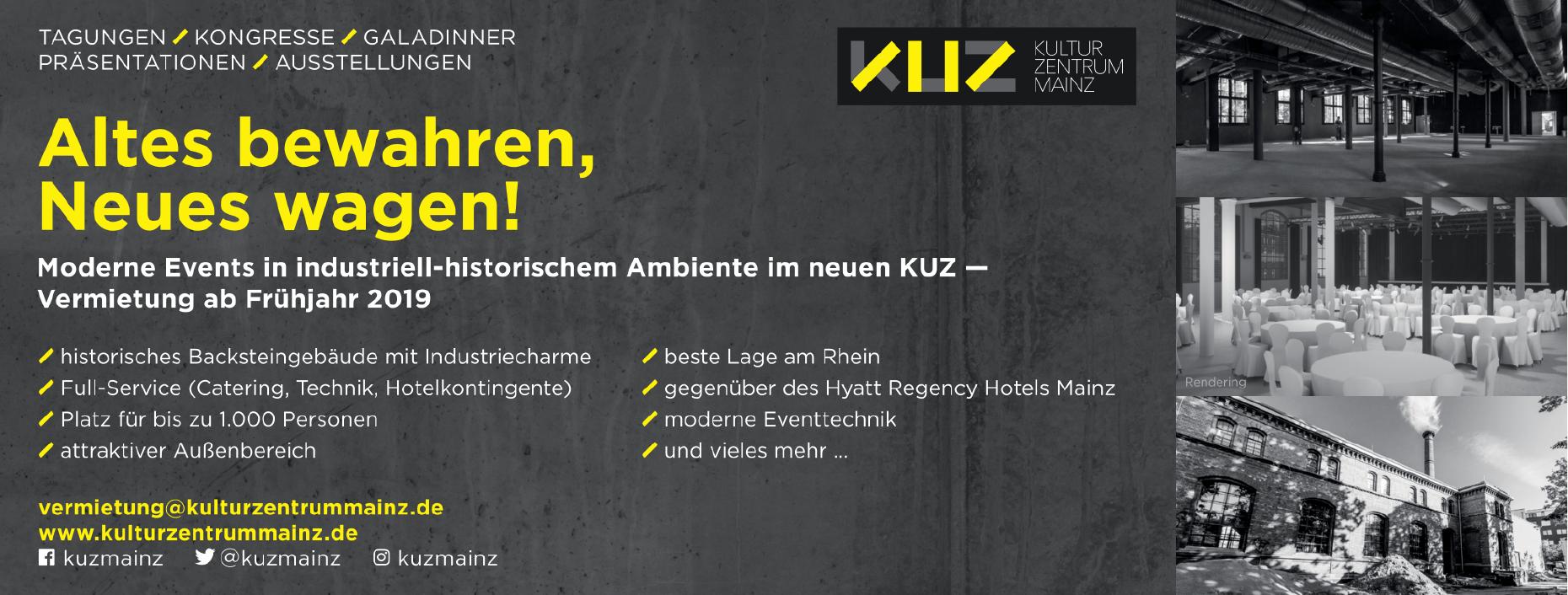 KUZ Kulturzentrum Mainz