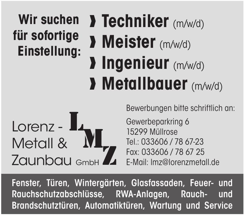 Lorenz - Metall & Zaunbau GmbH