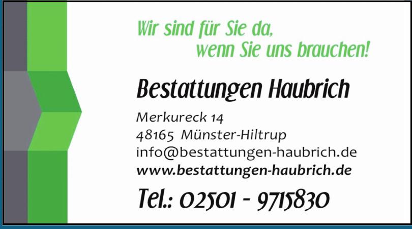 Bestattungen Haubrich