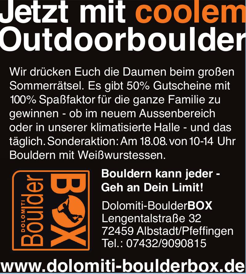 Dolomiti Boulderbox