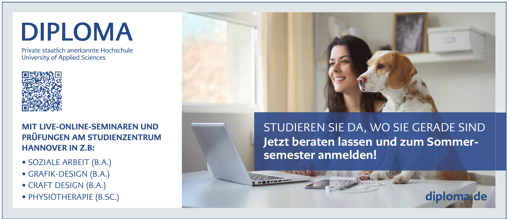 Diploma Private staatlich anerkannte Hochschule University of Applied Sciences