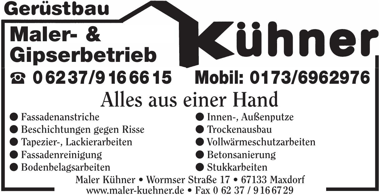 Maler- & Gipserbetrieb Kühner