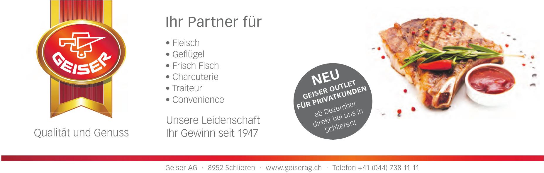 Geiser AG