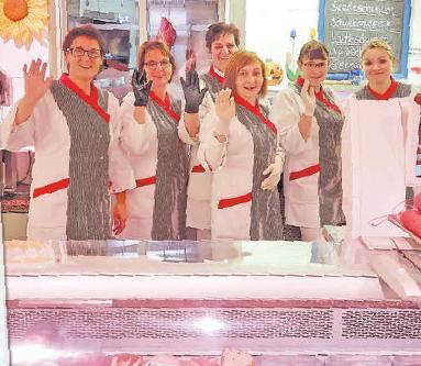 Das Team der Fleischerei Budnik ©privat
