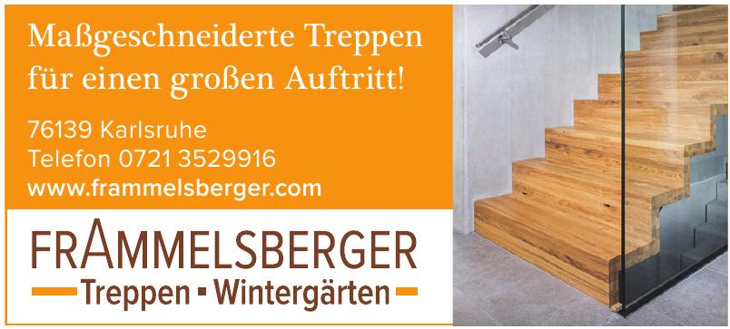 Frammelsberger Treppen Wintergärten