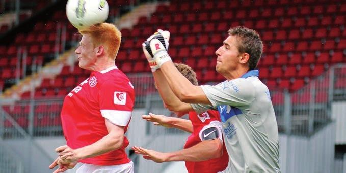 Mit 19 wechselte er nach Hoffenheim, kam zunächst eine Saison für die U23 in der Regionalliga Südwest zum Einsatz. In der Saison darauf wurde er hinter Tim Wiese die Nummer Zwei, anschliessend Stammtorwart. Dann kam die schwere Verletzung.