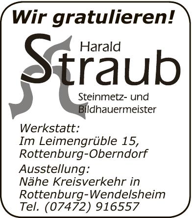 Harald Straub Steinmetz- und Bildhauermeister