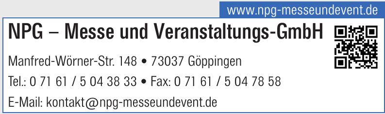 NPG – Messe und Veranstaltungs-GmbH