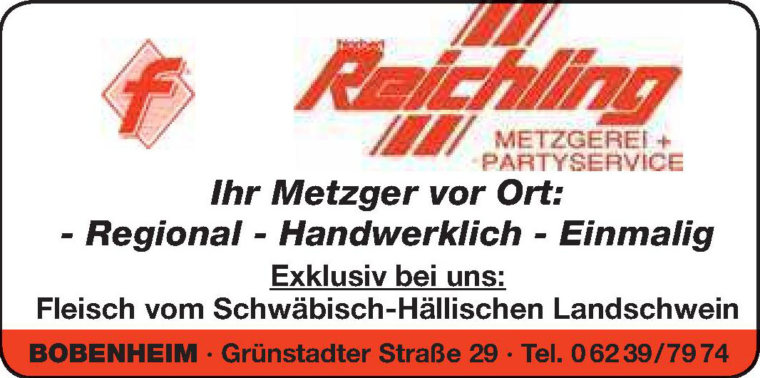 Raichling Metzgerei + Partyservice