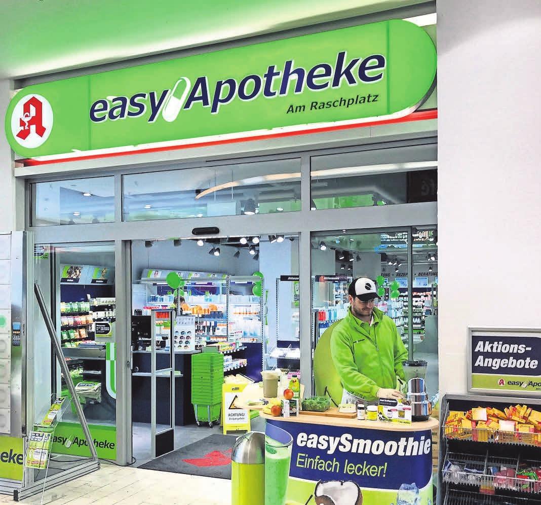 Große Auswahl, kleine Preise – die easyApotheken gibt es zweimal in Hannover.