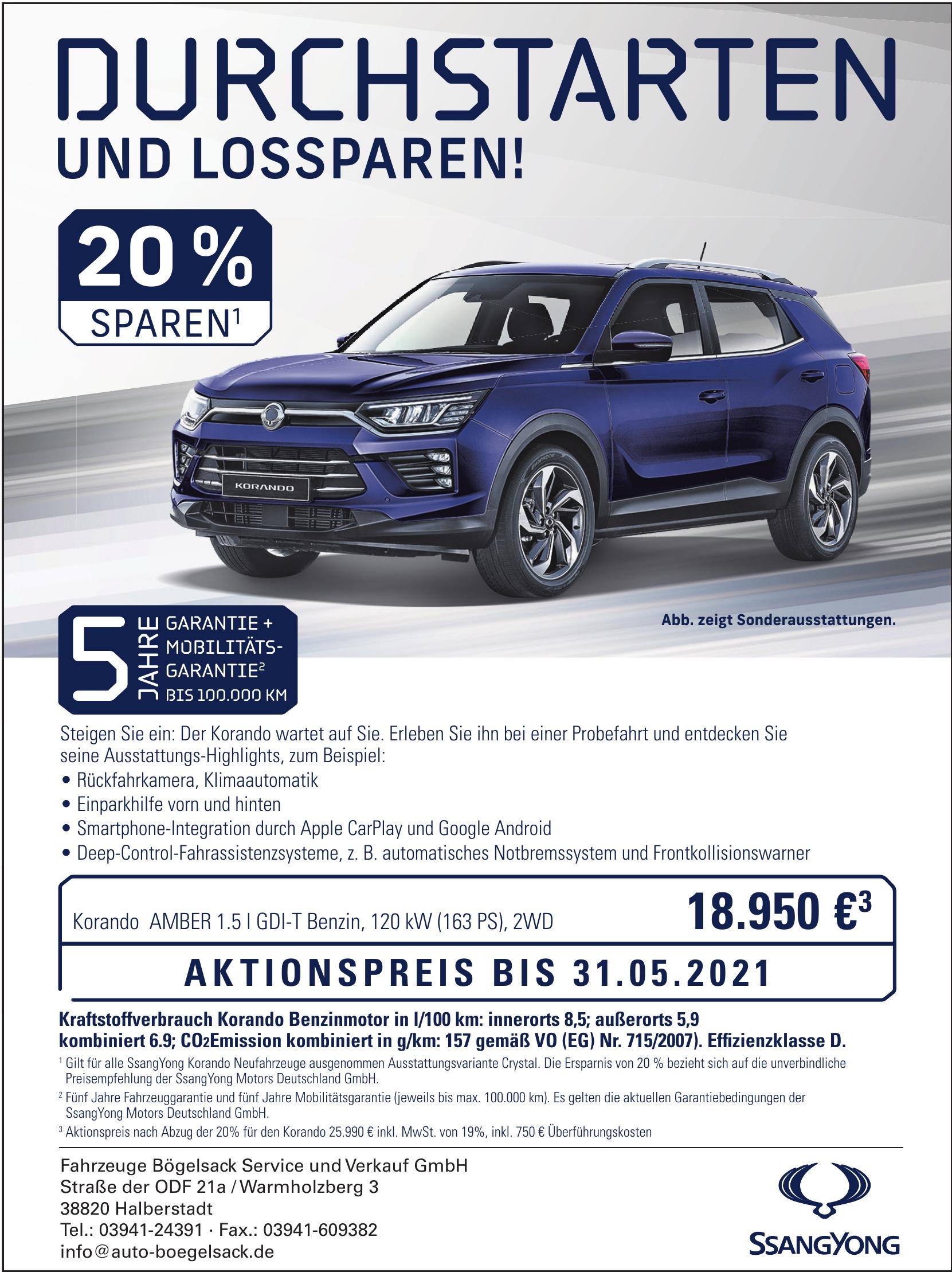 Fahrzeuge Bögelsack Service und Verkauf GmbH
