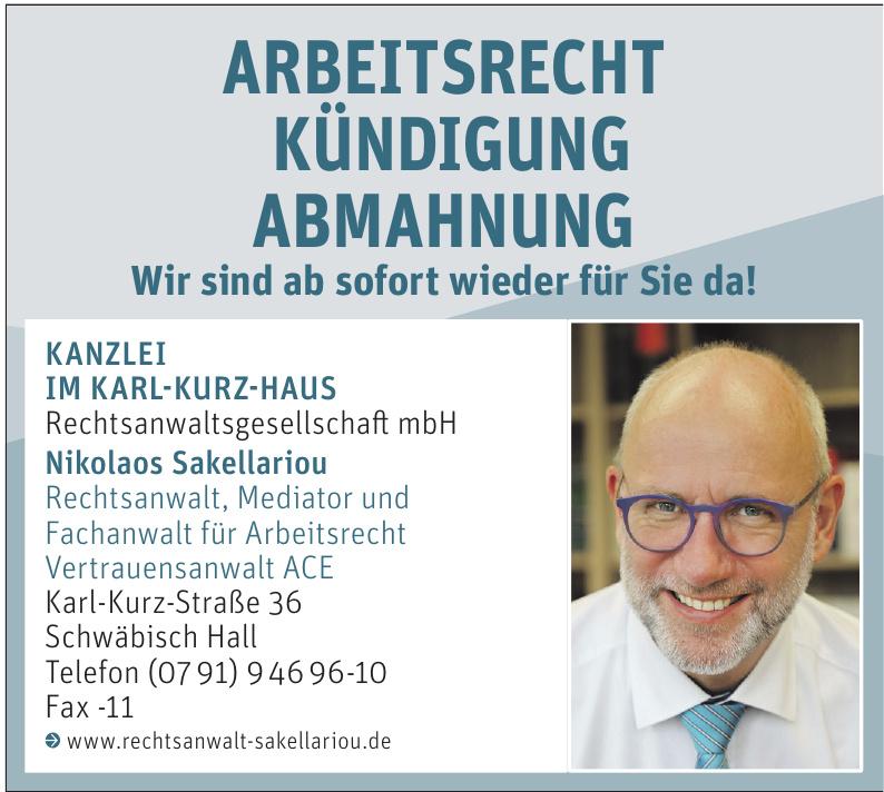 Kanzlei im Karl-Kurz-Haus Rechtsanwaltsgesellschaft mbH