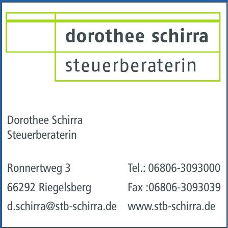 Dorothee Schirra Steuerberaterin
