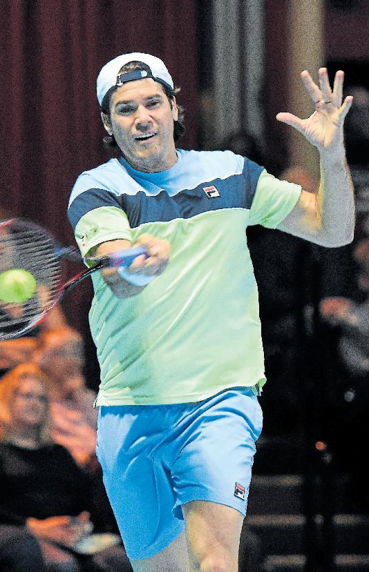 Tommy Haas. Photo: Royal Albert Hall