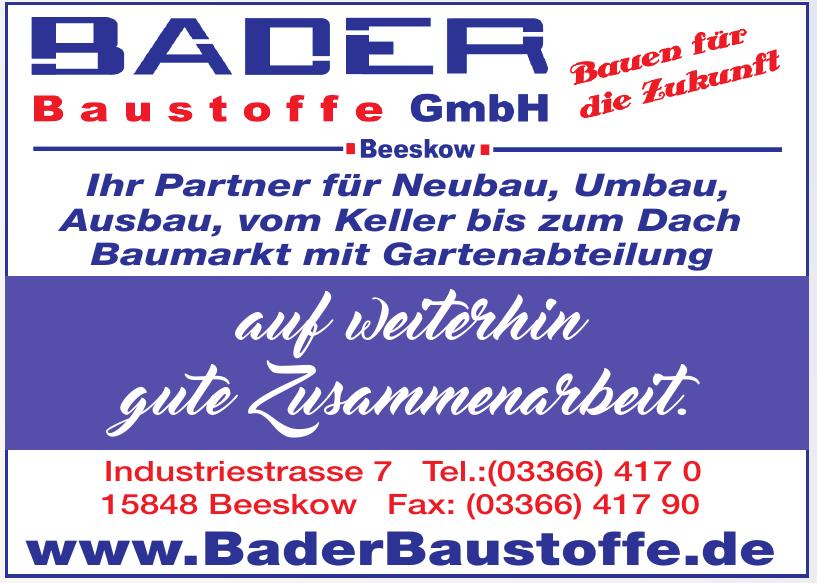Bader Baustoffe GmbH