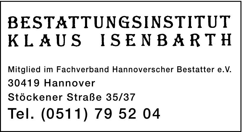 Bestattunginstitut Klaus Isenbacrth