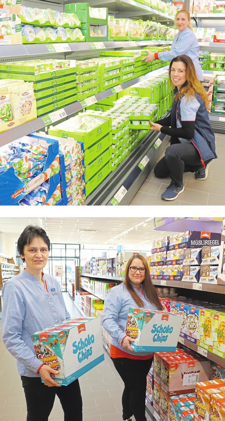 Aldi feiert neuen Markt mit Kunden Image 3