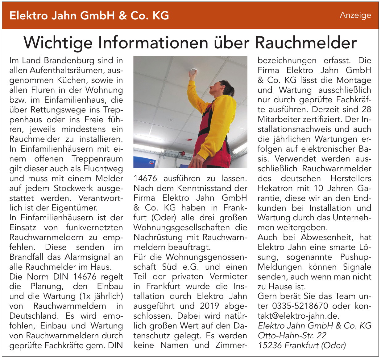 Elektro Jahn GmbH & Co. KG