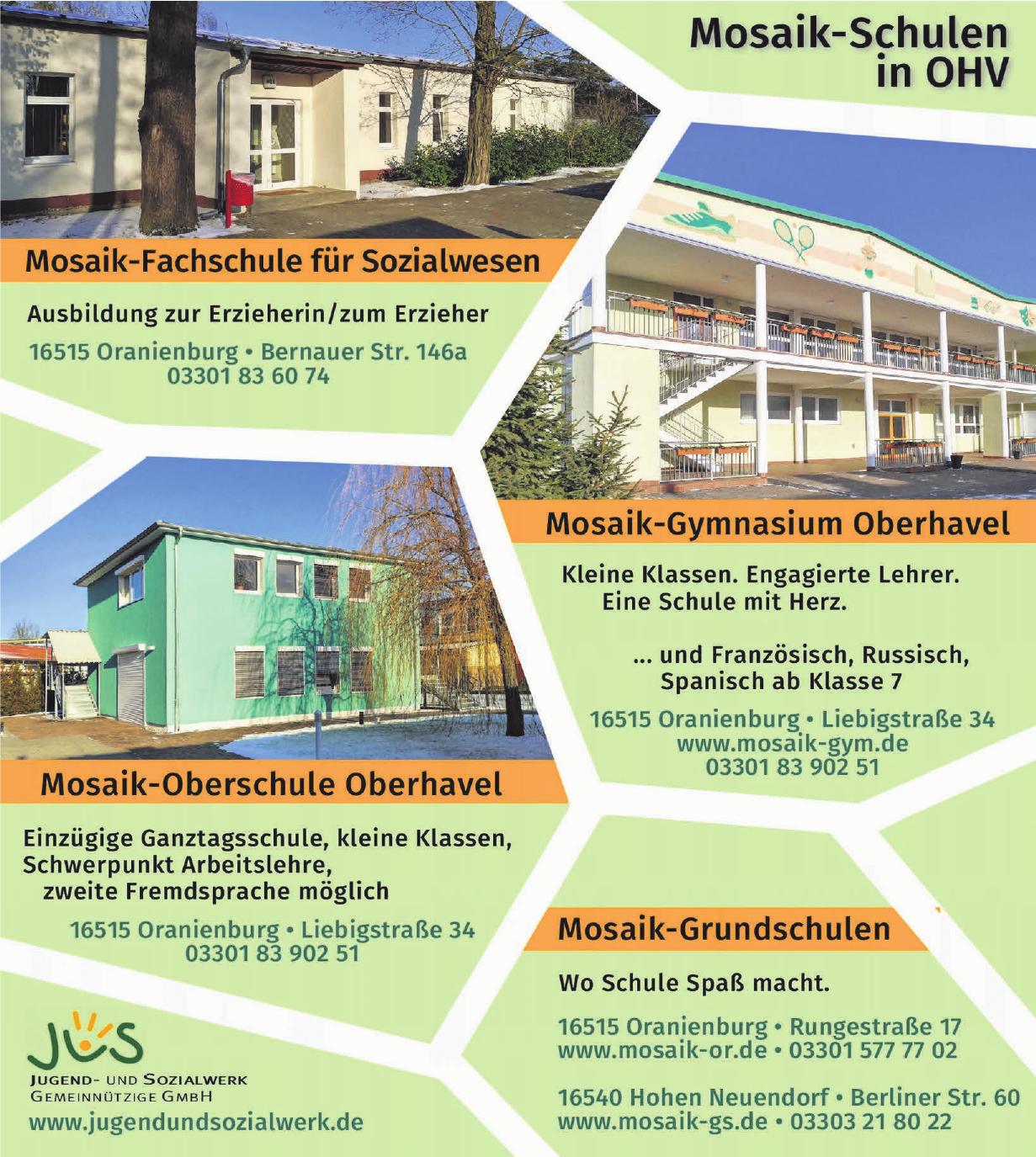 Mosaik-Grundschule Oberhavel