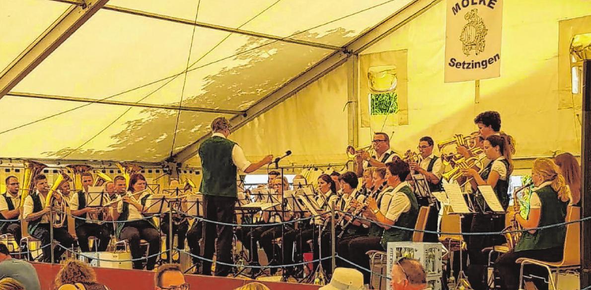 Der Musikverein Niederstotzingen spielt wie vergangenes Jahr beim Sommerfest des Jugendhauses Molke Setzingen. Fotos: Privat