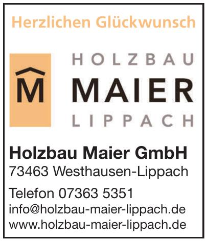 Holzbau Maier GmbH