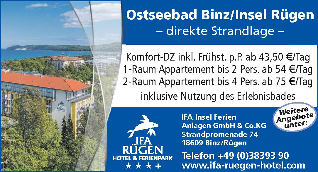 IFA Insel Ferien Anlagen GmbH & Co. KG
