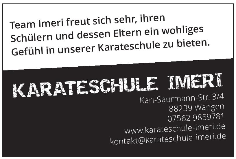 Karateschule Imeri