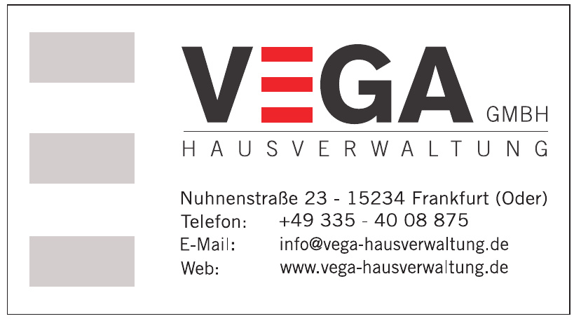 Vega GmbH Hausverwaltung