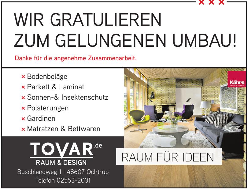 Tovar Raum & Design