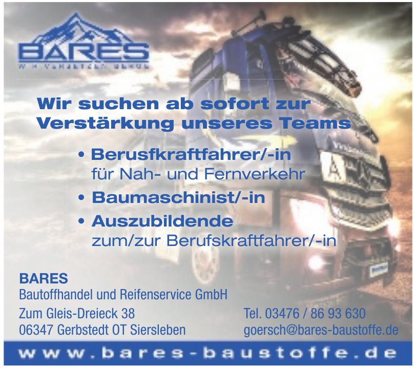 BARES Bautoffhandel und Reifenservice GmbH