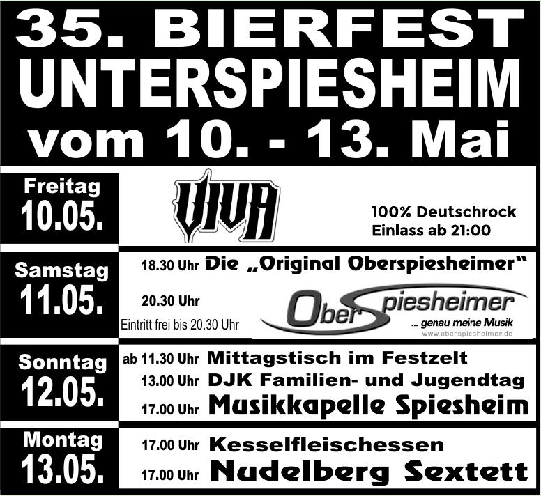 35. Bierfest in Unterspiesheim