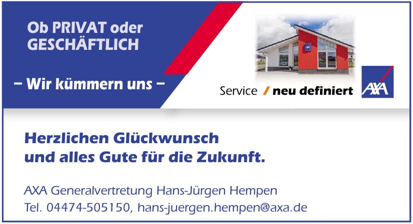 AXA Generalvertretung Hans-Jürgen Hempen