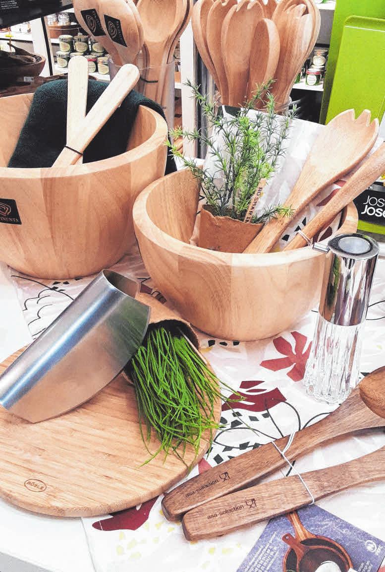 Schönes für die Küche bei Kicherer. FOTO: KICHERER
