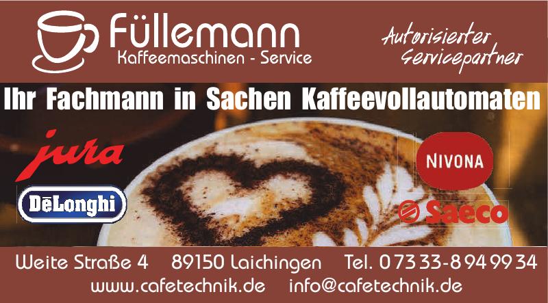 Füllemann Kaffeemaschinen