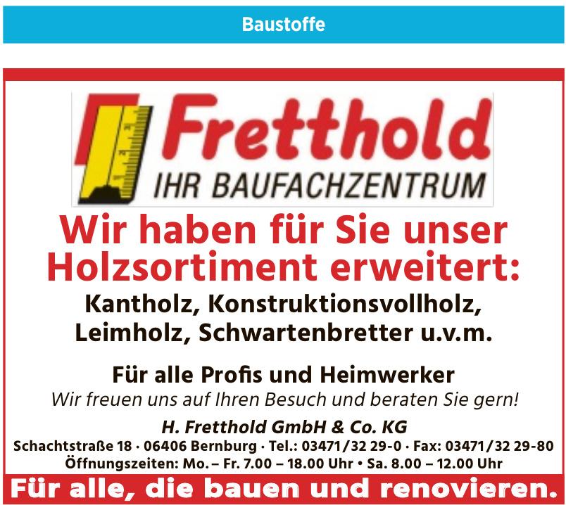 H. Fretthold GmbH & Co. KG