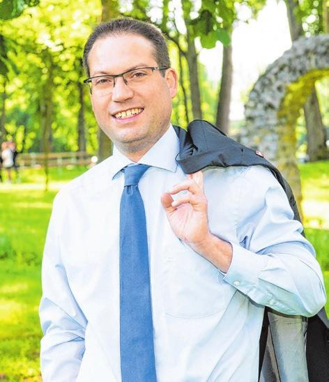 Frank Zimmermann, Bürgermeister der Stadt Gaildorf.