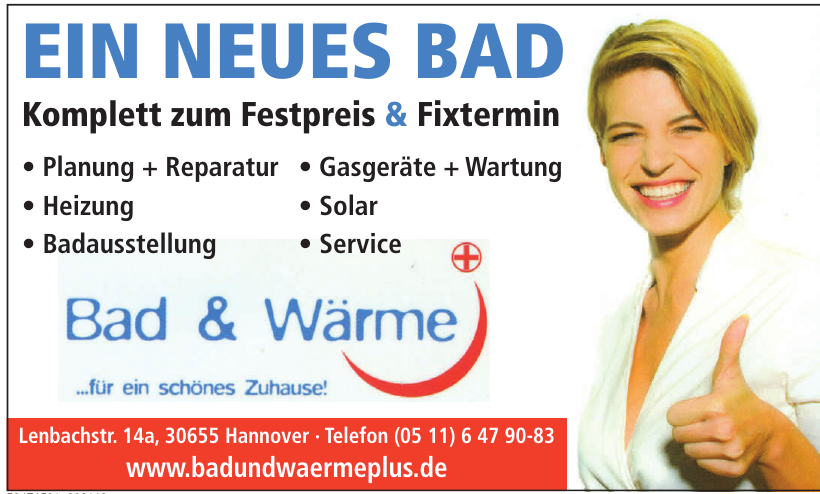 Bad & Wärme Plus