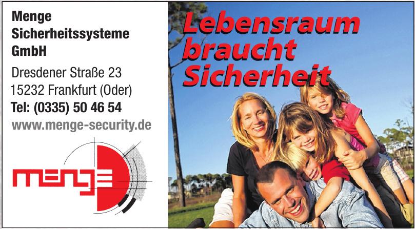 Menge Sicherheitssysteme GmbH