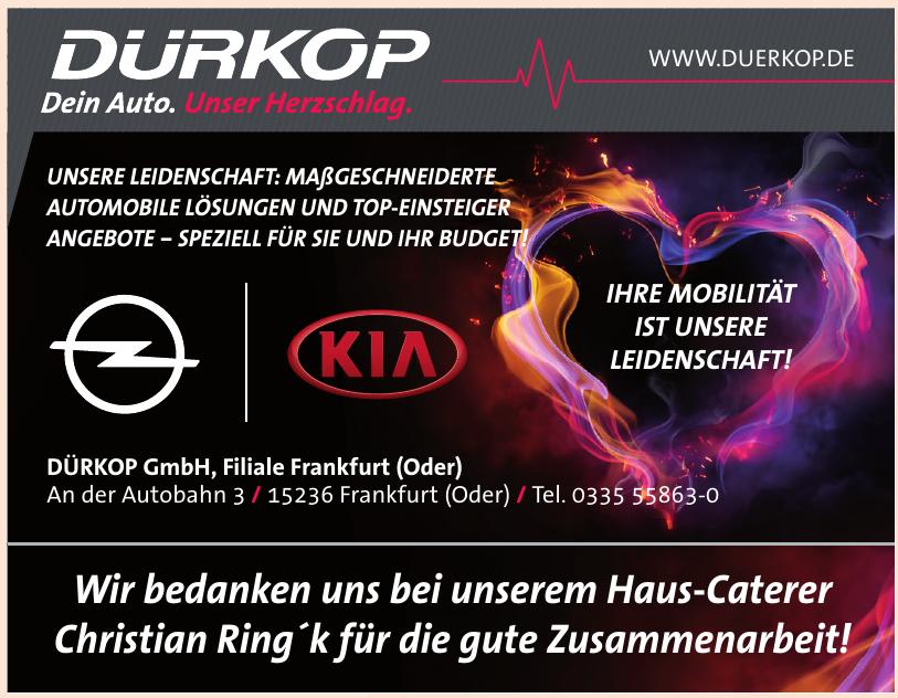 DÜRKOP GmbH, Filiale Frankfurt (Oder)
