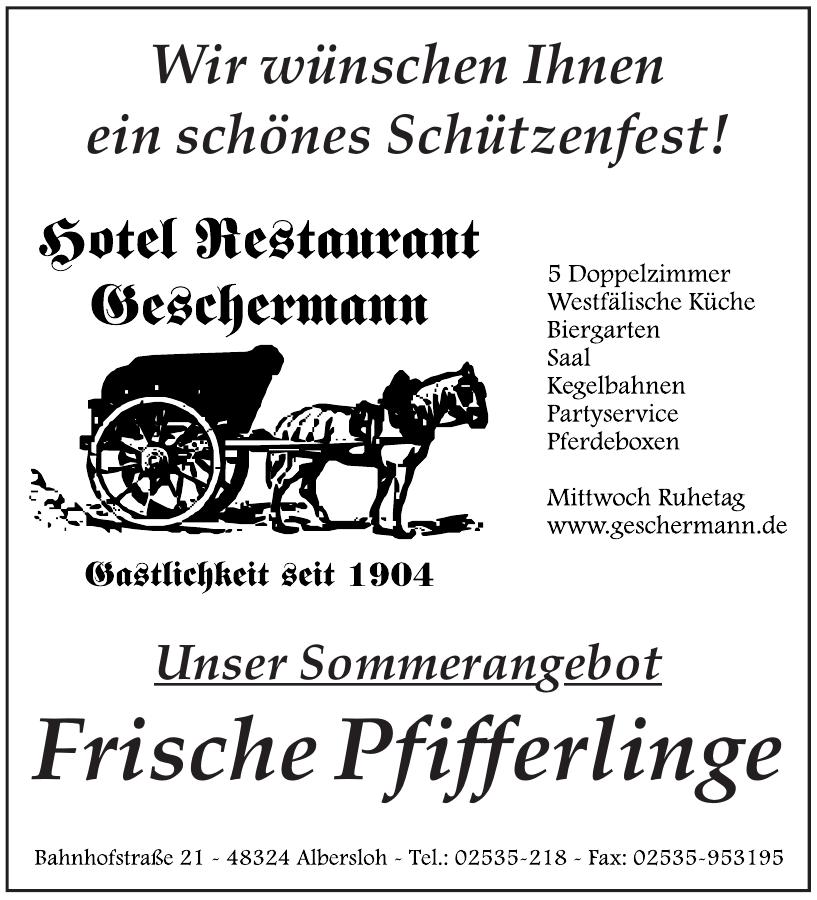 Hotel Restaurant Geschermann
