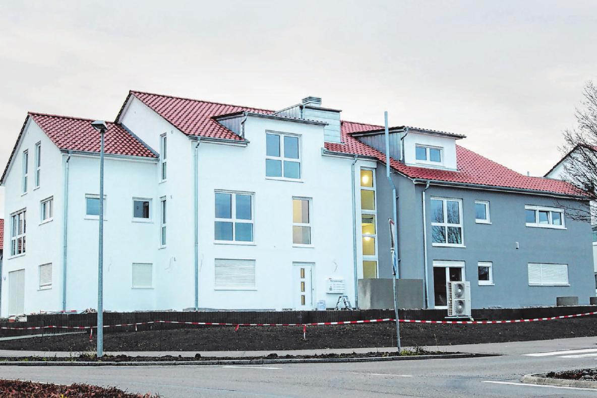Die acht geräumigen Wohnungen können bald besichtigt werden. Foto: Corinna Heiden
