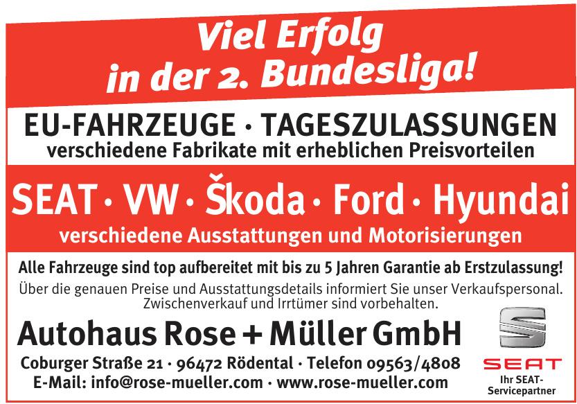 Autohaus Rose + Müller GmbH
