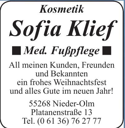 Kosmetik Sofia Klief
