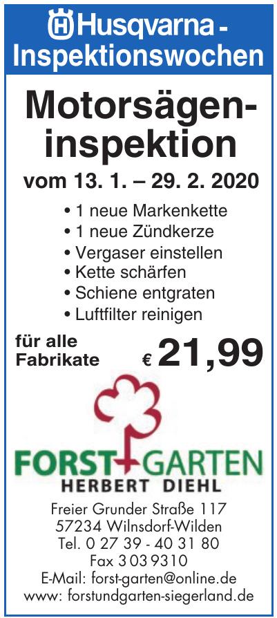 Forst+Garten - Herbert Diehl