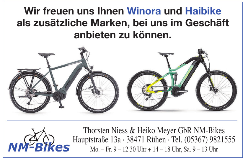 Thorsten Niess & Heiko Meyer GbR NM-Bikes