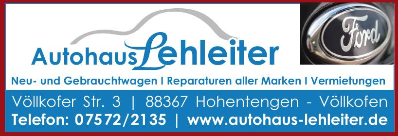 Autohaus Lehleiter GmbH
