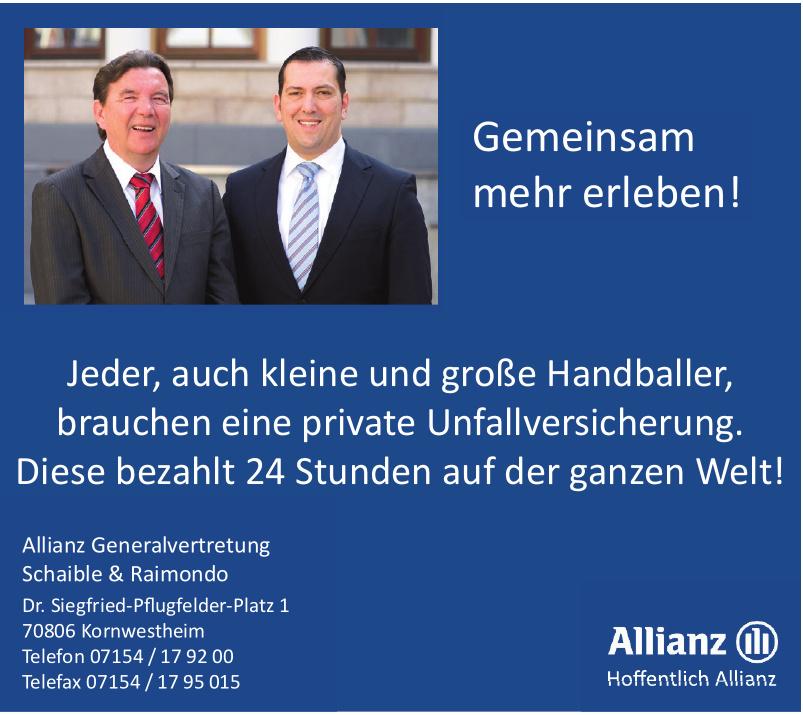 Allianz Generalvertretung Schaible & Raimondo